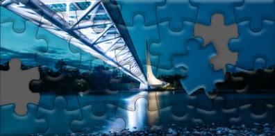 Sundial Bridge Puzzle
