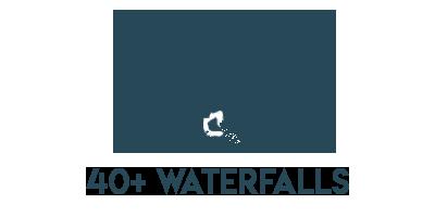40+ Waterfalls