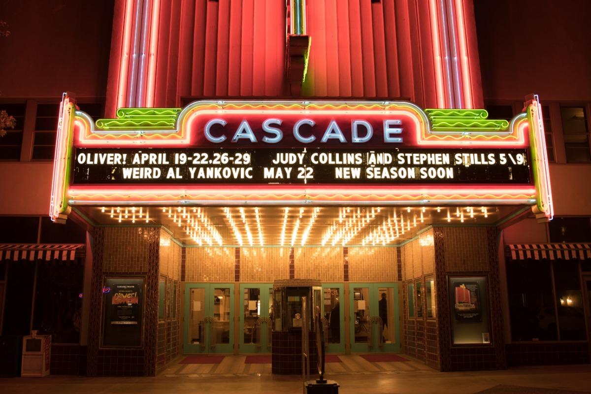 Exterior of the Cascade Theatre