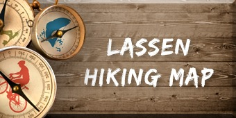 Lassen Hiking Map button