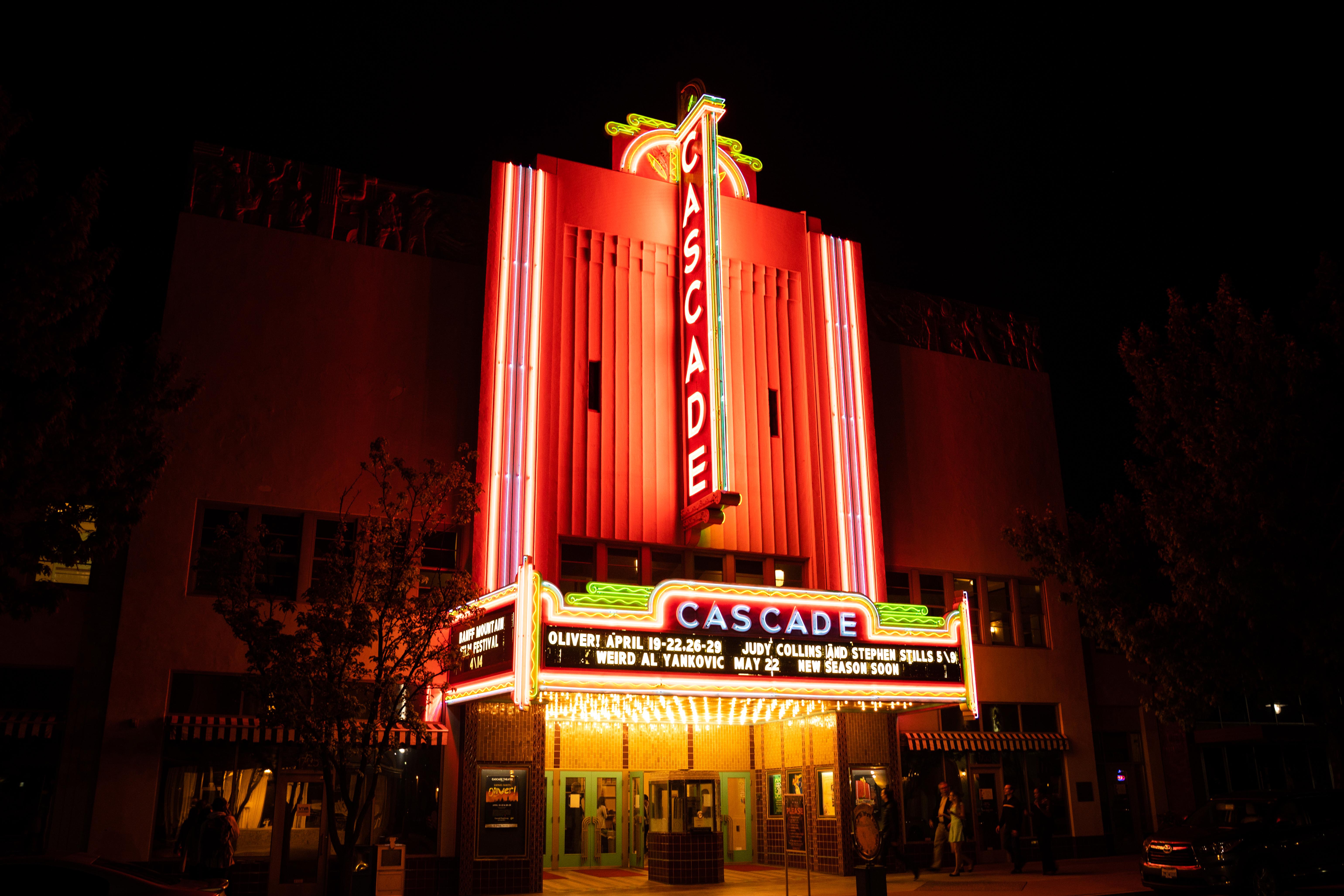 The Cascade Theatre in Redding, CA.