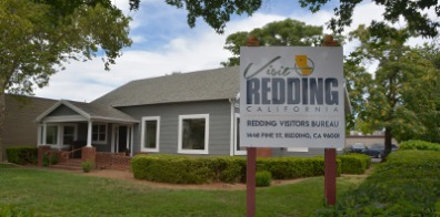 The Redding Visitor Center.